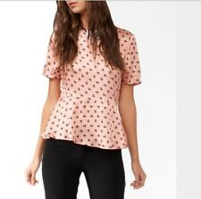 Hello Kitty X Forever 21 Chococat Peplum top large