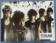 FT ISLAND  Colorful Sensibility Part 2 OFFICIAL POSTER *HARD TUBE CASE* UNFOLD