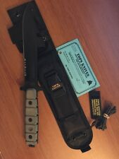 """TOPS Knives, US Combat Knife, US-01, 13.75"""" Overall Length w/ Black Sheath"""