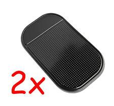 2 x KFZ Antirutschmatte Haft Pad Slip Pad Smartphone Handy iPhone MP3 #8001#