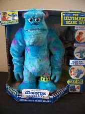 monsters university interactive scare sully ultimate scare off competition plush
