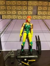 GI Joe Club Transformers Exclusive Crossover Ninja Force Scarlett LOOSE/COMPLETE