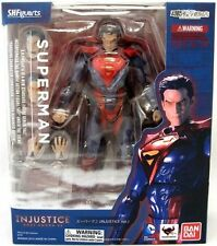 Bandai S.H. SH Figuarts Superman (Injustice Ver.) Action Figure US Seller USA
