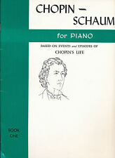 Chopin - Schaum for Piano Book One