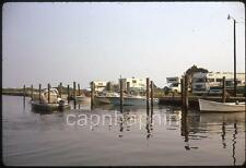 Pickup Truck Campers Winnebago Boats Boating Vintage 1972 Slide Photo Camping
