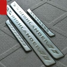 Stainless Steel High Quality Door Sill Scuff Plate For Toyota Highlander 2012-13