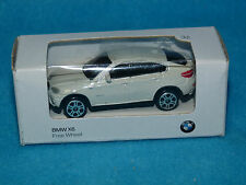 Original BMW X6 SERIE Free Wheel 1:64 BOXED NEW