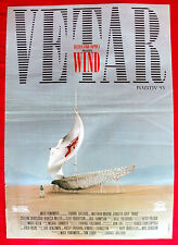 WIND 1993 MATTHEW MODINE JENNIFER GREY CLIFF ROBERTSON UNIQUE EXYU MOVIE POSTER
