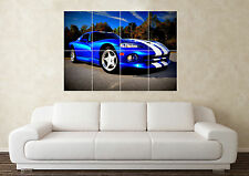 Large Dodge Viper SRT V10 Muscle Supercar SportCar Wall Poster Art Picture Print