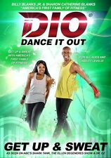 DANCE IT OUT GET UP & SWEAT DVD BILLY BLANKS JR NEW SEALED SEEN ON SHARK TANK