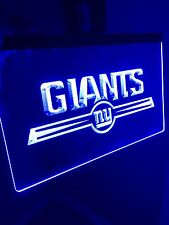 NFL New York Giants LED Neon Sign for Game Room,Office,Bar,Man Cave Super NEW