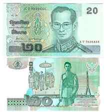 THAILAND 20 BAHT 2003 (2012) SIGN 84 UNC P 109