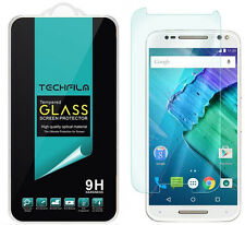 TechFilm® Tempered Glass Screen Protector Saver For Motorola Moto X Pure Edition
