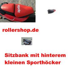 Sitzbank-Bezug für Aprilia SR 125 , SR 150, kleiner Sporthöcker Beifahrersitz