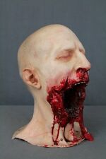 Life Size Male Zombie Head Halloween Prop & Decoration The Walking Dead Corpse