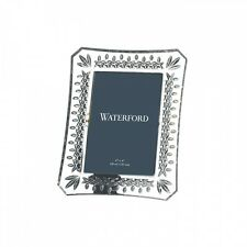 """WATERFORD Crystal Lismore 4X6"""" Frame New In Waterford Gift Box"""