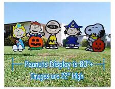 Peanuts Five Great Pumpkin Halloween Yard Art Decorations