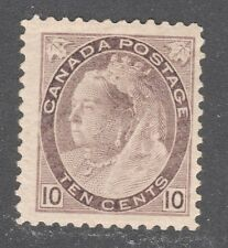 CANADA STAMP #83 ----10c QUEEN - 1898 - UNUSED