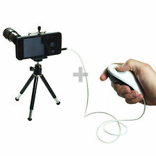 8X Zoom Telescope Camera Lens with Tripod & Shutter Release for iPhone 5 5s