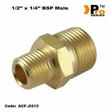1/2'' to 1/4'' Brass Nipple- Air line Fitting-Air Compressor Fitting  01