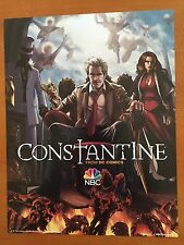 "DC Comics CONSTANTINE Poster NBC TV Series Promo 10"" x 13"" NM 2014"