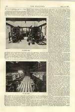 1896 Electrochemical Company Works St Helens Dynamo Room Tank House