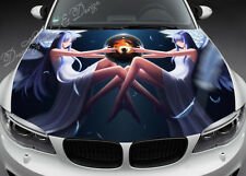 Anime Angel Full Color Graphics Adhesive Vinyl Sticker Fit any Car Bonnet #077