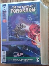 """Manga style """"The Two Faces of Tomorrow"""" Dark Horse's complete unread series"""