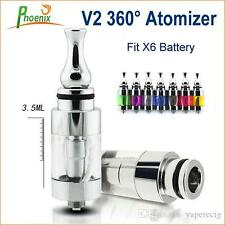 V2 Atomizer Rotatable Clearomizer Detachable Replaceable head For x6 model