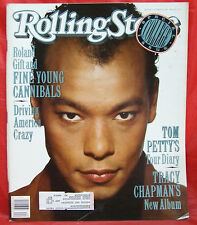 Fine Young Cannibals Roland Gift ROLLING STONE Issue 562 Tom Petty 10/5/1989