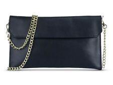 NEW REAL Purse GENUINE LEATHER Women Shoulder Clutch Crossbody Handbag Bag LYNE