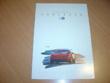 CATALOGUE Chevrolet Corvette de 1993