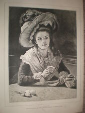 Phyllis from Marie Cornelissen 1878 old print