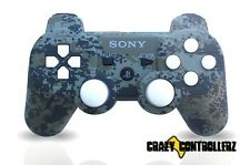 PS3 Playstation 3 Modded Controller Rapid Fire Jitter Mod Black Ops 2 Camo More!