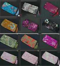 Wholesale10pcs Chinese Handmade Silk Cosmetic Bags Purses/Wallet Pouch