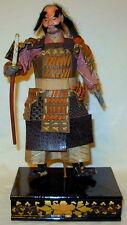 Vintage Japanese Gofun Samurai Armor Warrior Doll II