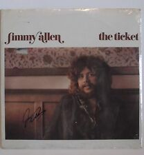 "Autographed Jimmy Allen ""The Ticket"" Vinyl Record!!"