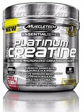 MuscleTech Platinum 100% Ultra-Pure Micronized Creatine Powder 400g 80 servings