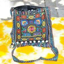 Vintage Hmong Ethnic Thai Shoulder Bags Embroidery Boho Hippie Ethnic Bag
