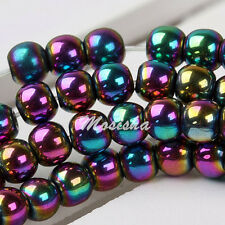 Multicolor Magnetic Hematite 4mm 95 Loose Beads DIY Charm Bracelet/Necklace Gift