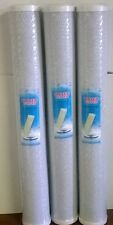"""L17  3 X 20"""" CTO BLOCK CARBON FILTERS  POND REVERSE OSMOSIS"""
