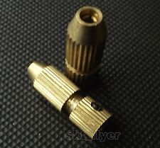 2pcs Drill Clamp Collet For 2.3mm Motor Shaft Big + Small