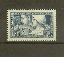 "FRANCE STAMP TIMBRE N° 252a "" C.A. LE TRAVAIL 1928 ETAT II "" NEUF xx SUP"