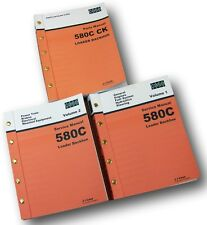 CASE 580C LOADER BACKHOE SERVICE PARTS MANUALS REPAIR SHOP TRACTOR TECHNICAL CK