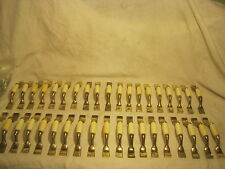 vintage handle pull handles lot metal & plastic hardware drawer part Taiwan mfg.