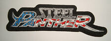 STEEL PANTHER - American Flag LOGO Embroidered PATCH Motley Crue Reckless Love