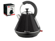 BLACK LEGACY STAINLESS STEEL 360˚ ELECTRIC CORLESS 1.8L PYRAMID JUG KETTLE 2200W