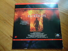 Backdraft Laser Disc Movie Starring Kurt Russell William Baldwin Scott Glenn