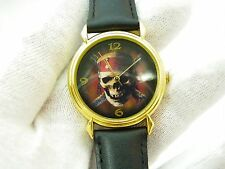 PIRATES OF THE CARIBBEAN, Park Issue, Leather Band, MENS WATCH R6-06