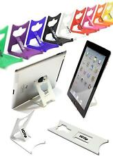 "Apple iPad, Tab, Asus, 9"" 10"" Computer Tablet Holder WHITE iClip Folding Stand"